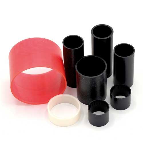 Produzione anime in materiale plastico per rotoli scontrino registratori di cassa